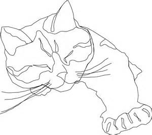 300x266 Calico Cat Coloring Pages