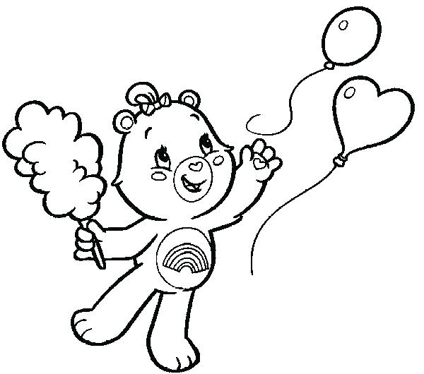 600x530 Grizzly Bear Coloring Page Bear Coloring Page Gummy Bear Coloring