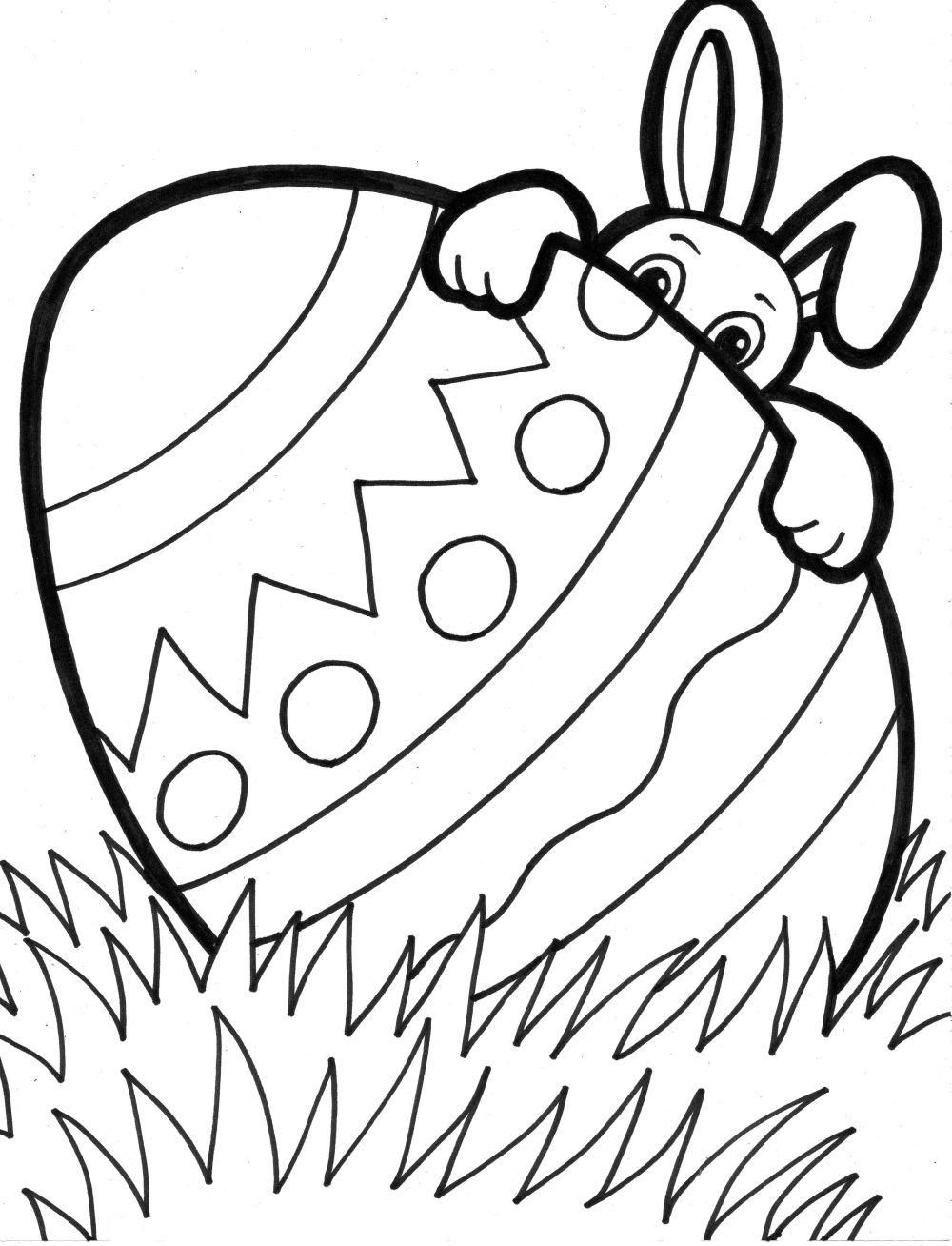 1000x1308 Printable Easter Coloring Pages Family Travel Blog And Top