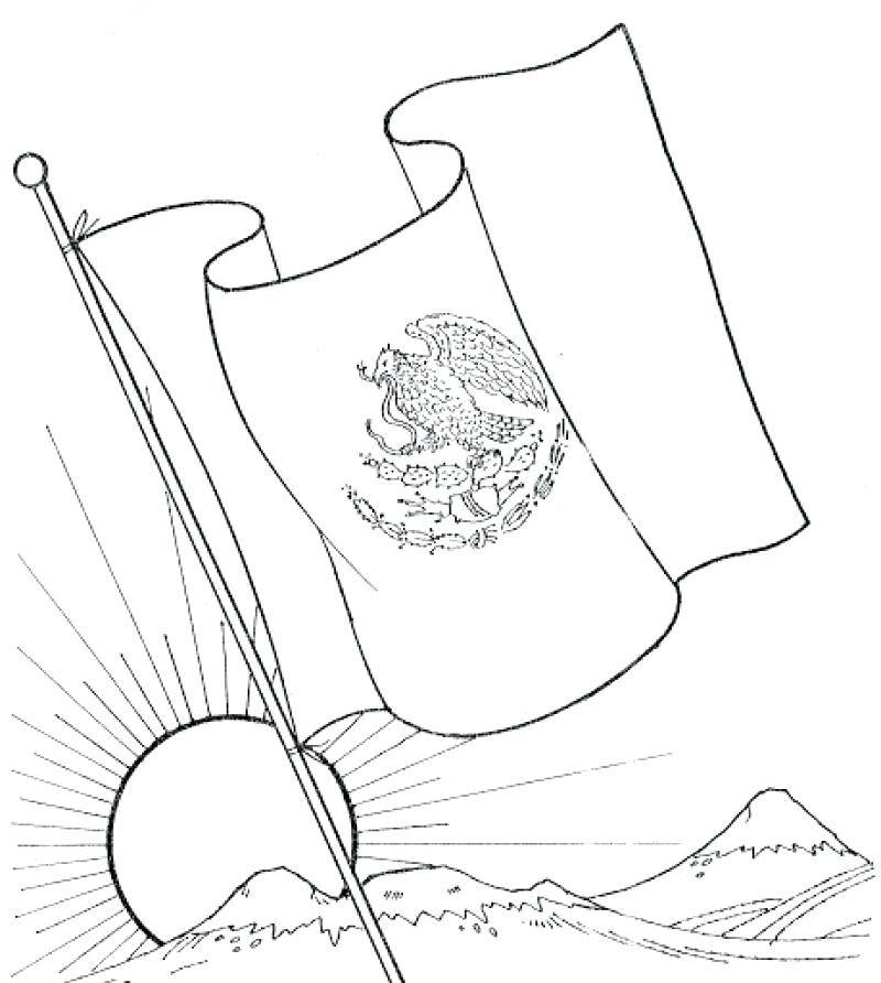 800x892 California Flag Coloring Page Click To See Printable Version