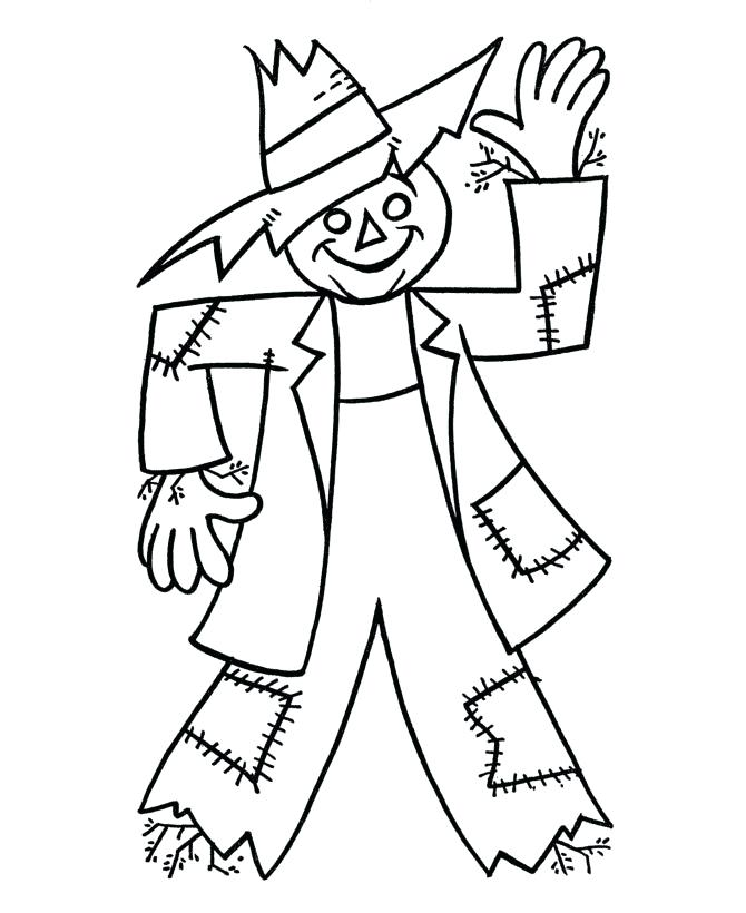 670x820 Gold Rush Coloring Pages Scarecrow For Thanksgiving Day California
