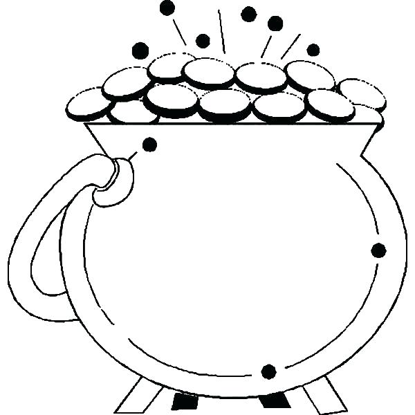 600x600 Gold Coloring Pages