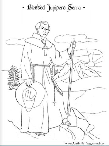 California Mission Coloring Pages