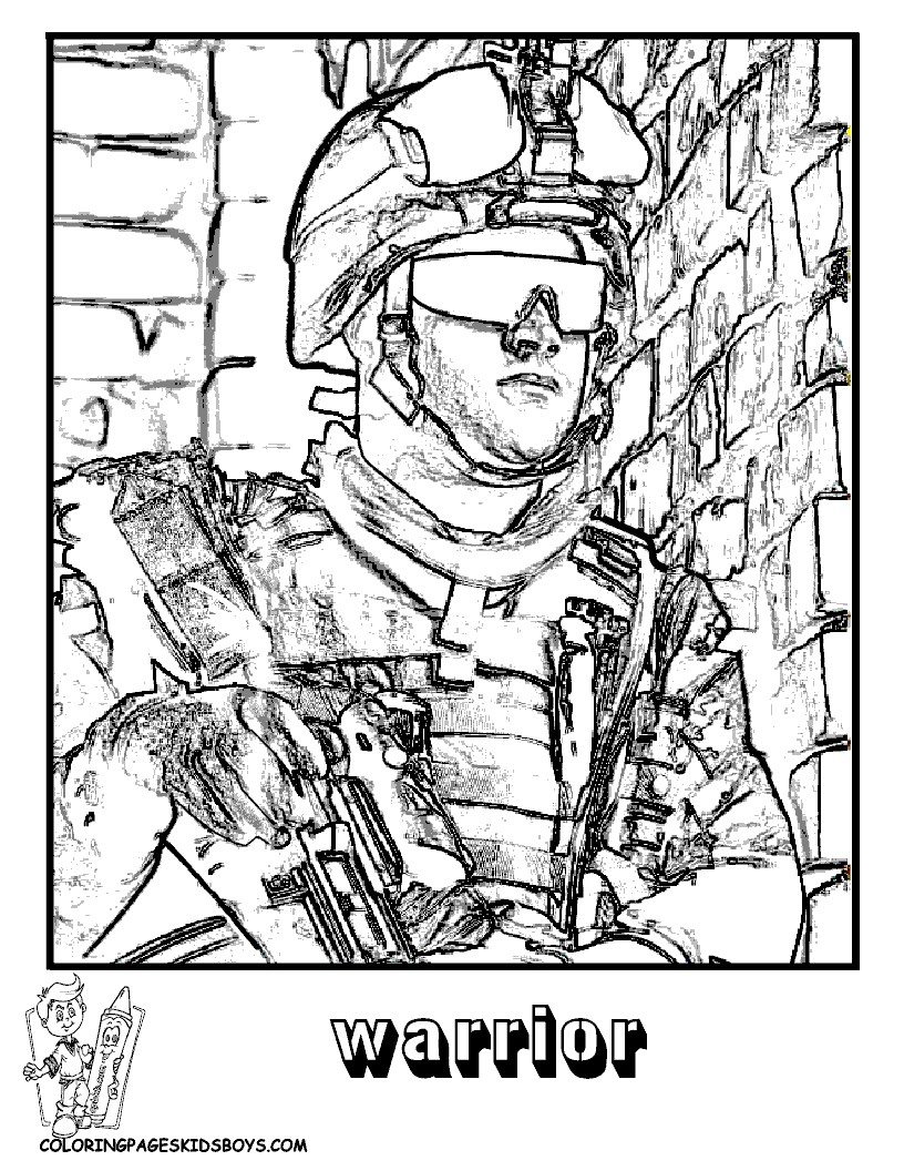 Call Of Duty Coloring Pages To Print at GetDrawings   Free ...