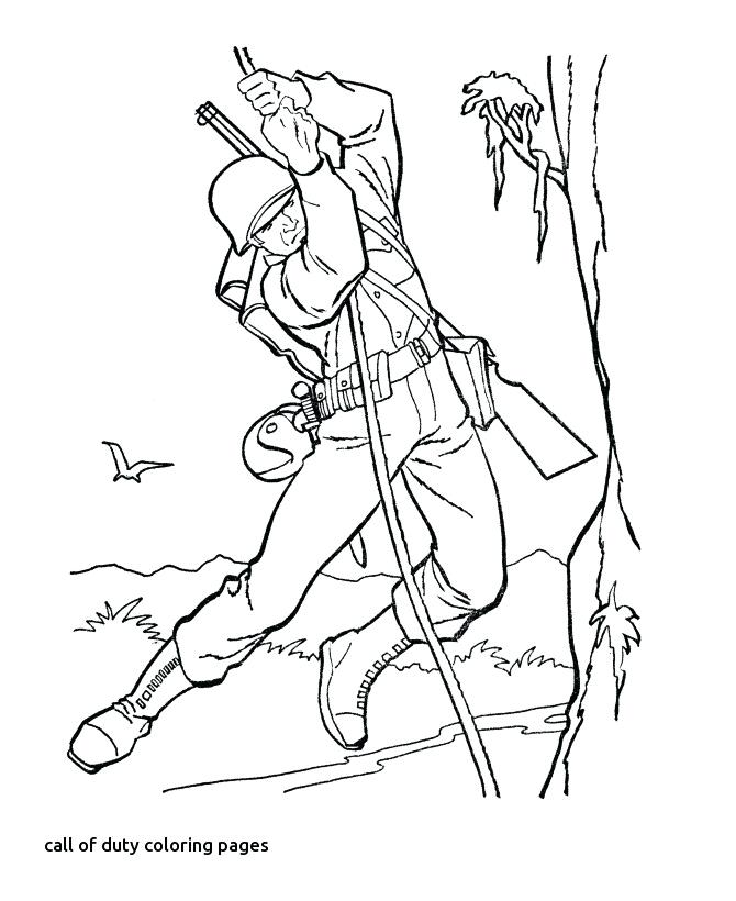 670x820 Black Ops Coloring Pages