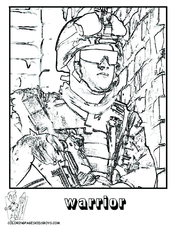 736x952 Call Of Duty Black Ops Zombies Coloring Pages Free Printable