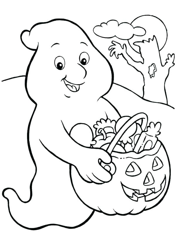 600x840 Ghost Coloring Pages Plus Ghost Coloring Pages Kids Free Printable