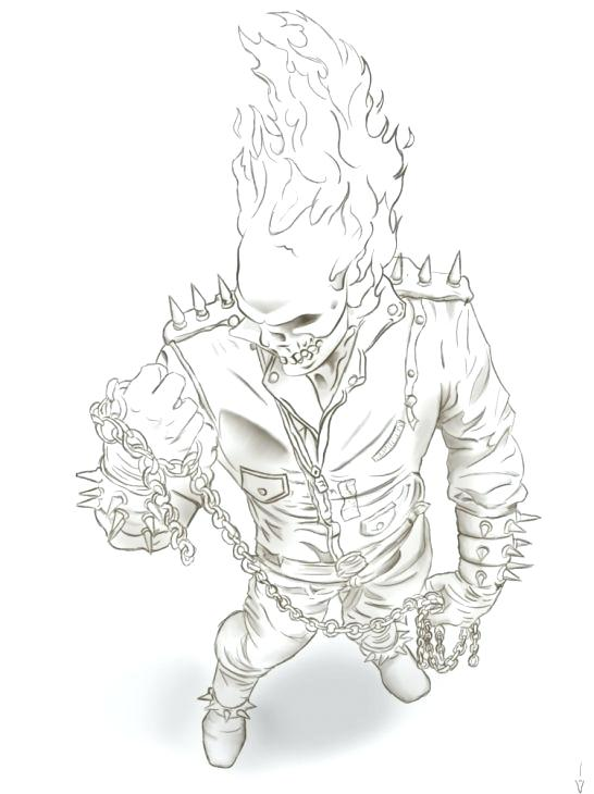 546x730 Template For Ghost Eyes And Mouth Ghost Rider Coloring Pages