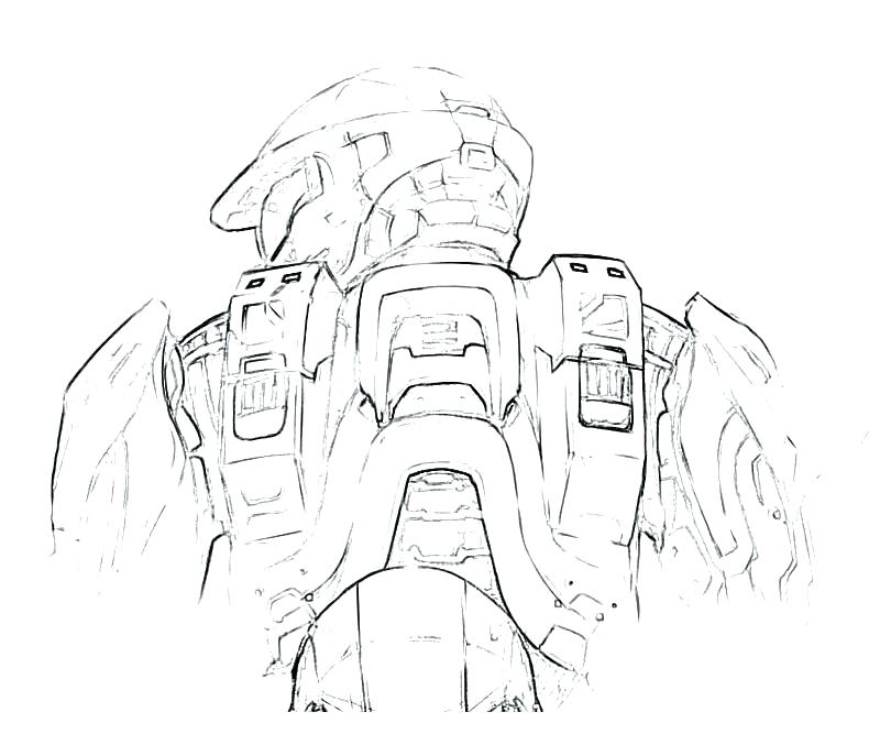800x667 Call Of Duty Ghosts Printable Coloring Pages Master Chief Halo
