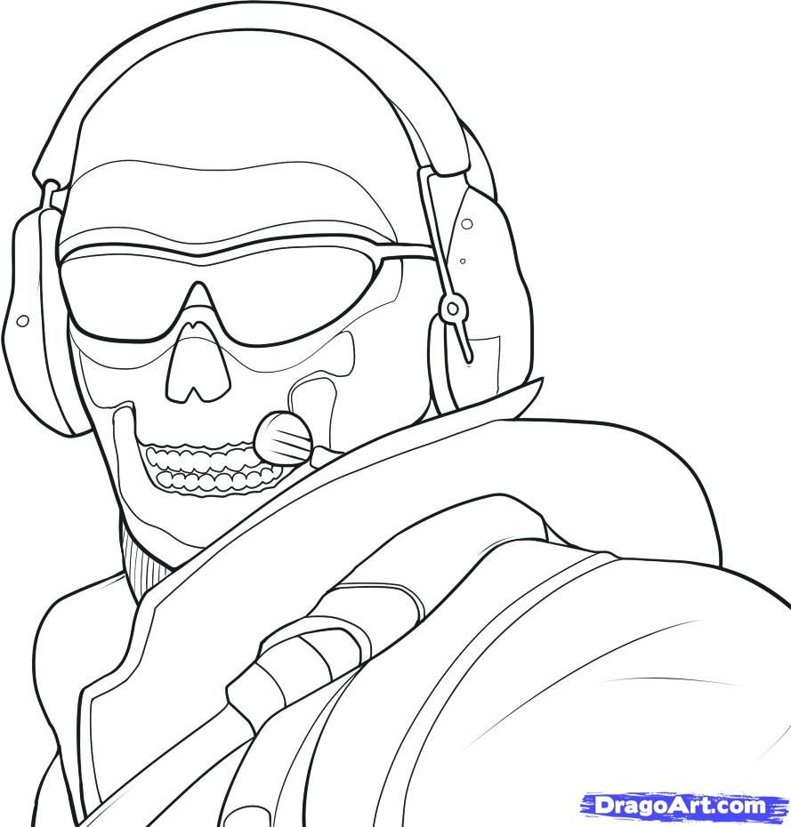 889x930 Amazing Design Call Of Duty Printable Coloring Pages Drawings Bing