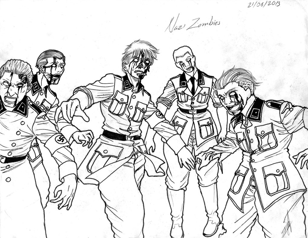 1018x785 Impressive Cod Coloring Pages Call Of Duty Black Ops Kids
