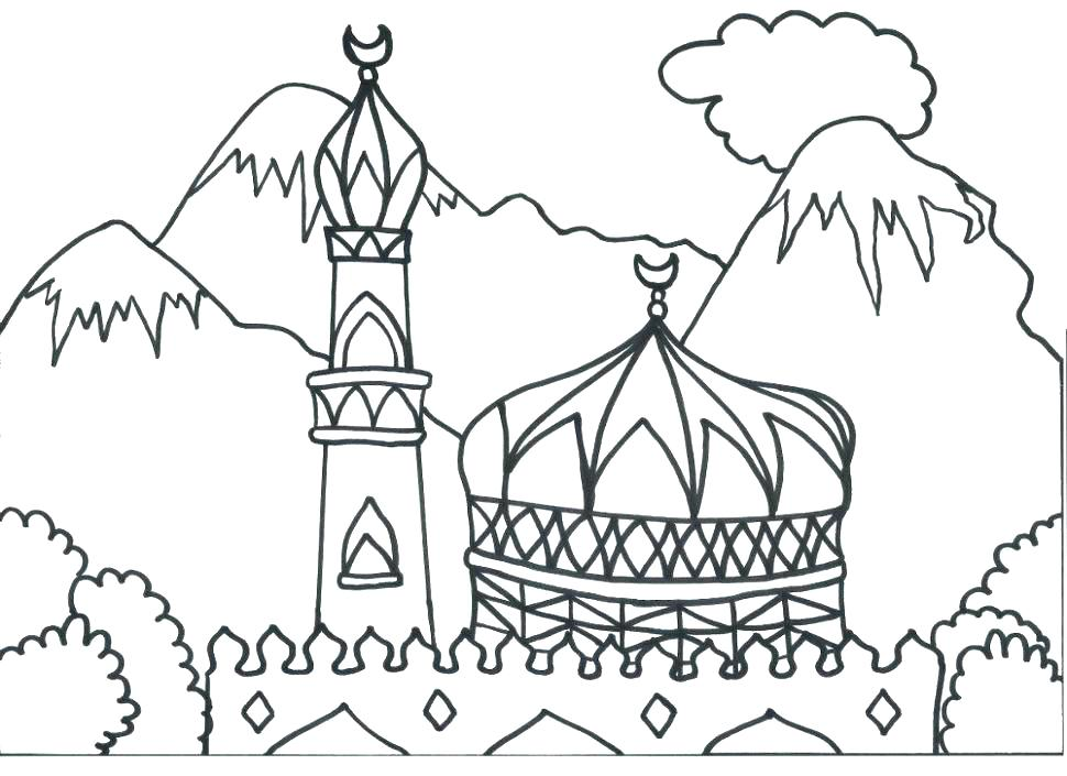 970x705 Mosaic Coloring Page Plus Mosaic Coloring Page Islamic Coloring