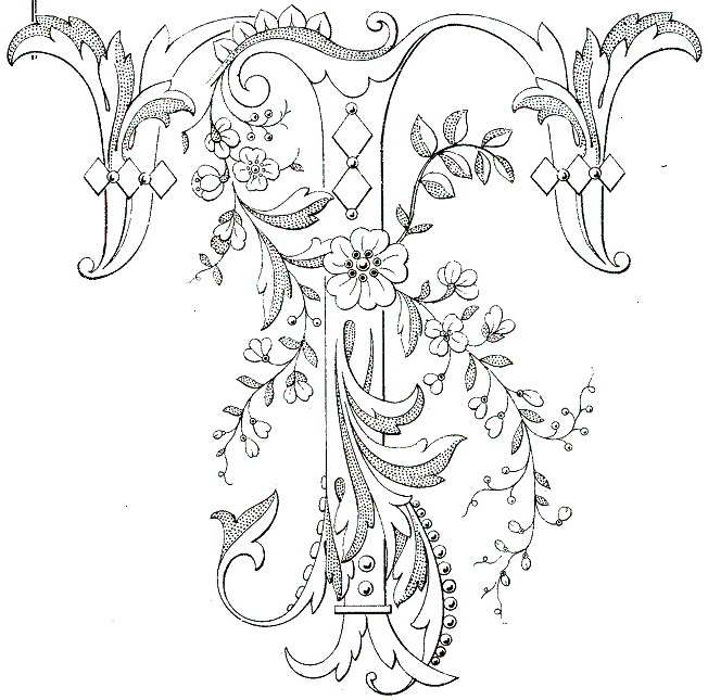 652x645 Lettres Et Alphabets Embroidery