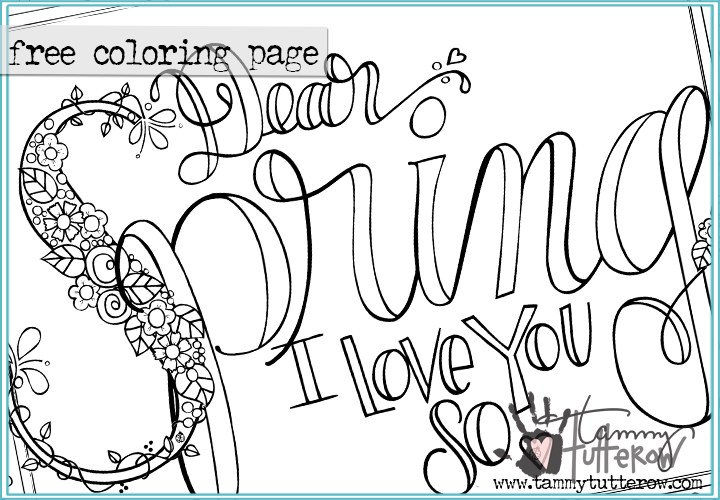 720x500 Coloring Pages Tammy Tutterow Designs