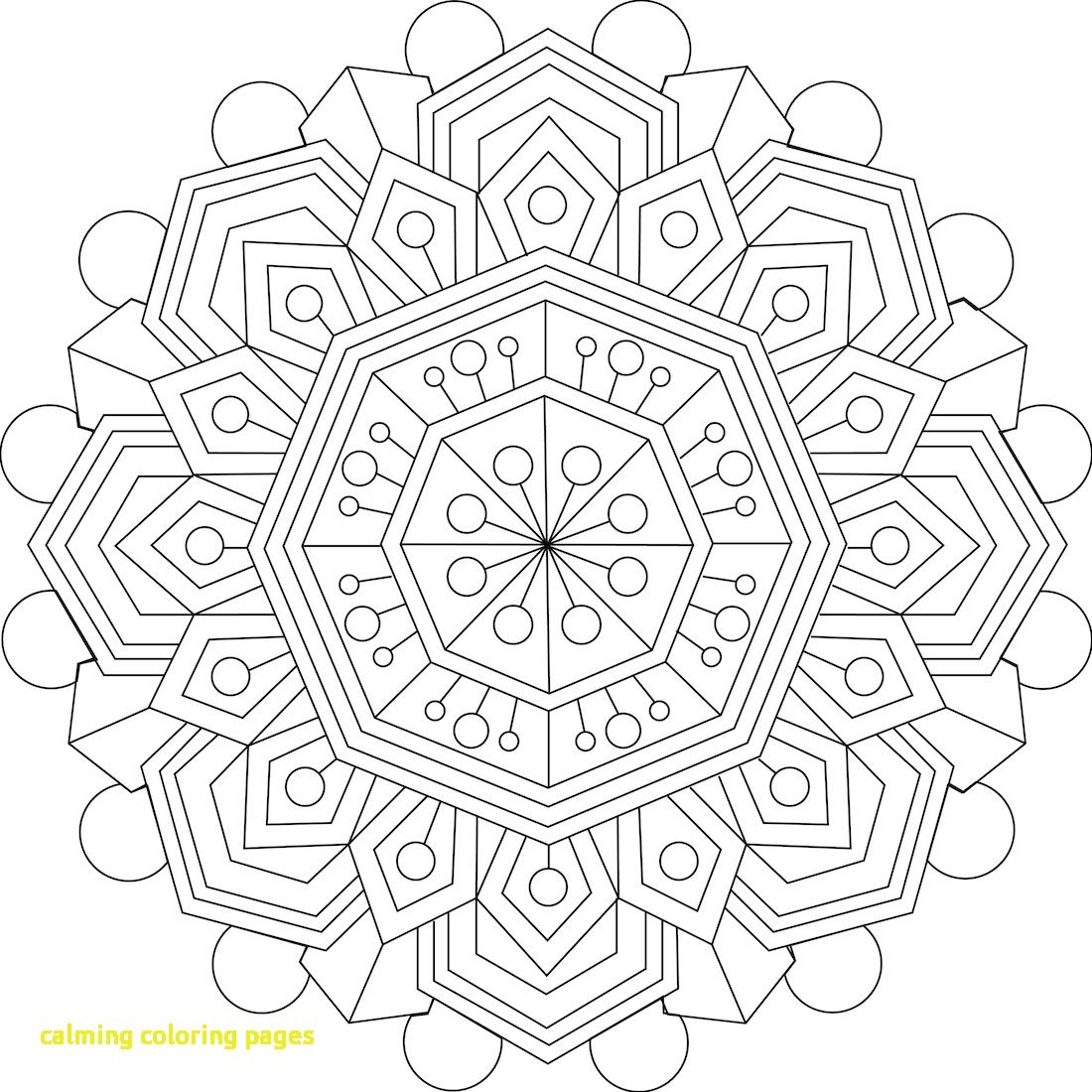 1100x1100 Calming Coloring Pages With Free Printable Coloring Pages