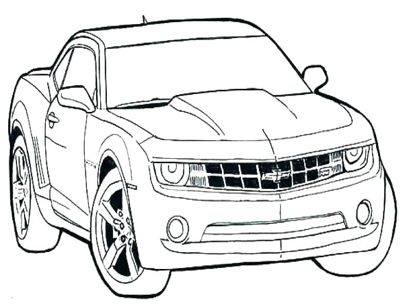 800x600 Camaro Coloring Pages To Color Book Mustang Coloring Pages