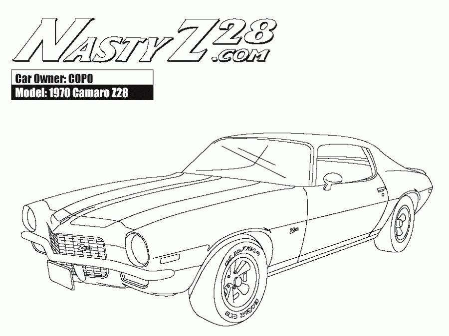 900x674 Camaro Ss Coloring Pages