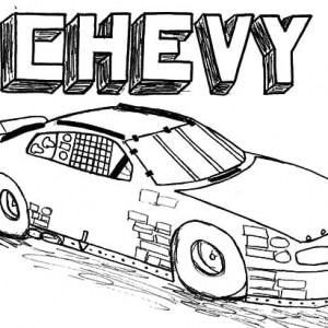 300x300 Chevy Camaro Cars Coloring Pages Best Place To Color