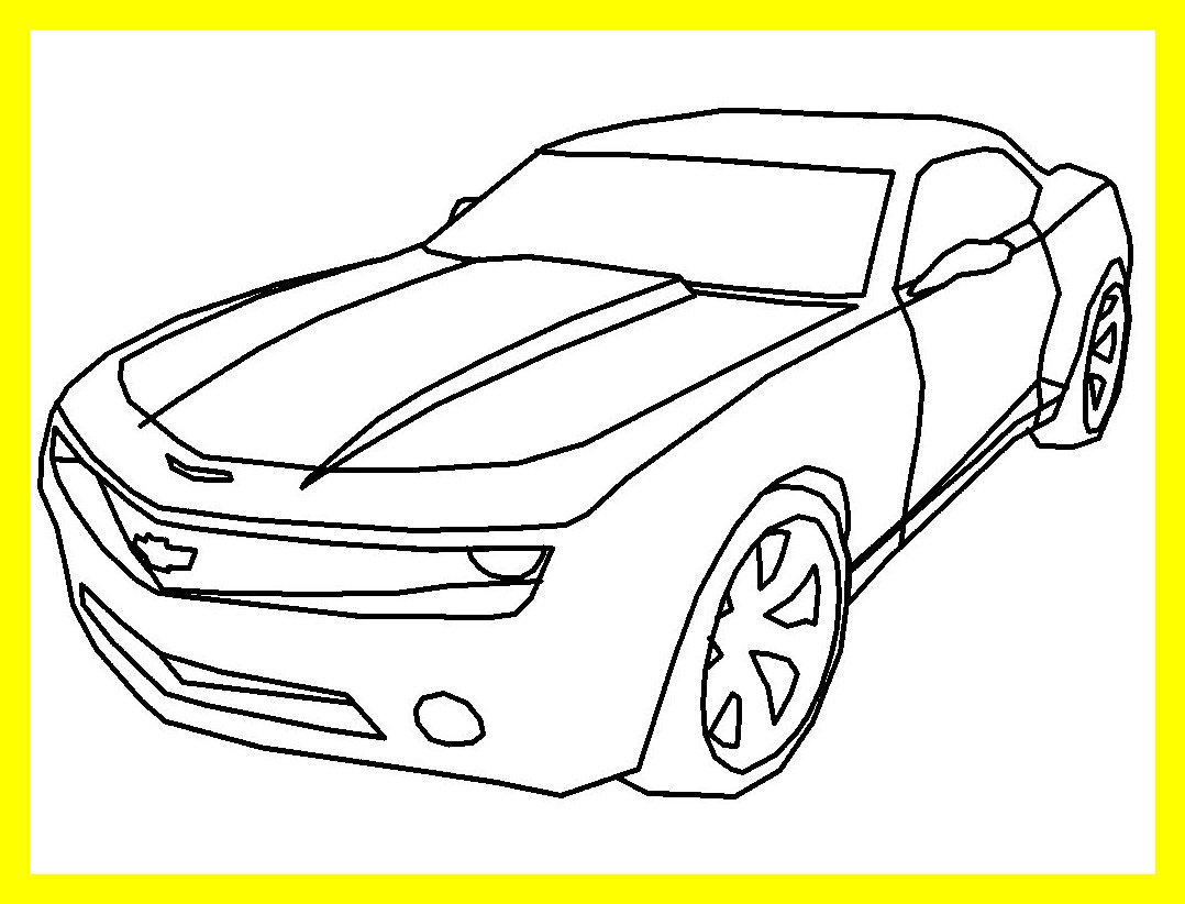 1078x822 Trend Camaro Coloring Pages About Remodel Coloring Site