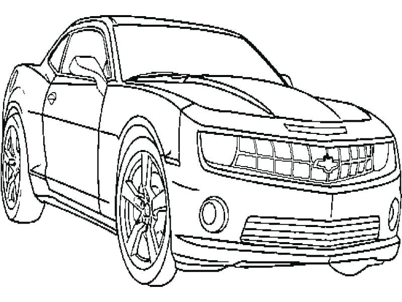 800x600 Camaro Coloring Page Camaro Coloring Pages Online