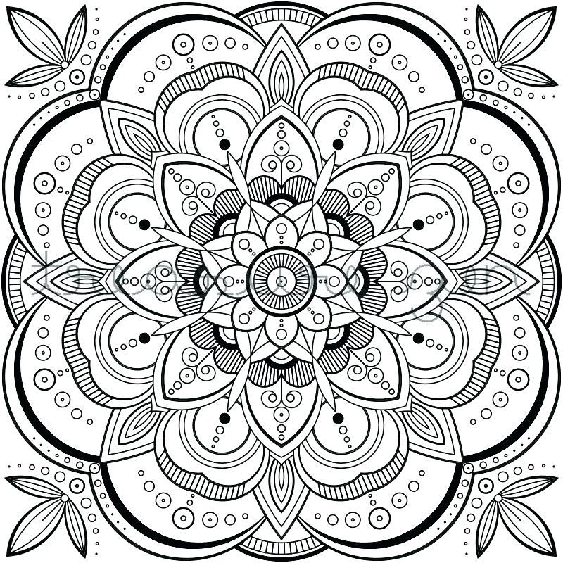 800x800 Digital Coloring Pages Coloring Pages For Adults Digital Coloring