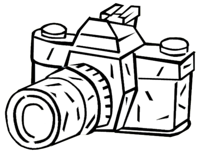 800x615 Camera Coloring Pages Print Cool Camera Coloring Page Download