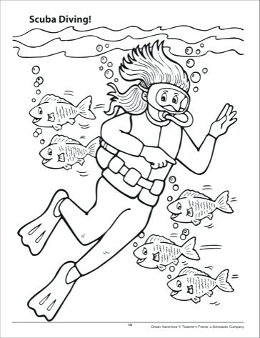 364x473 Camera Coloring Page Scuba Diver Coloring Page Free Download Info
