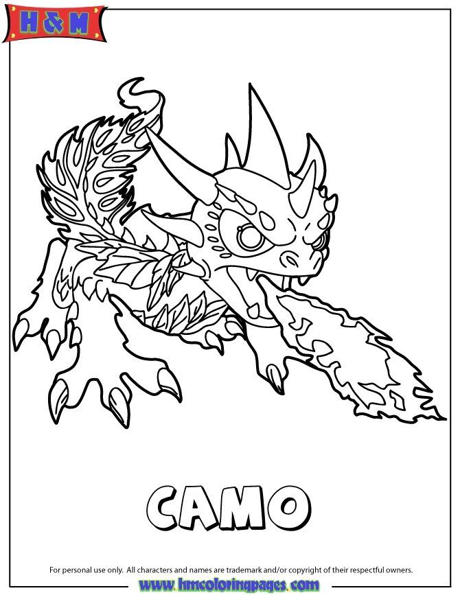 670x867 Camo Skylanders Coloring Pages This Cute Coloring