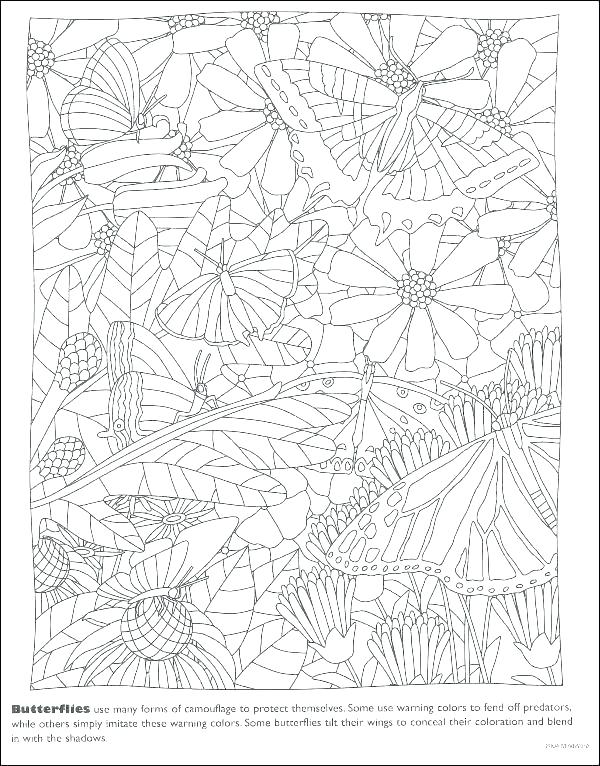 600x766 Camouflage Coloring Pages Hard Coloring Books Plus Camouflage