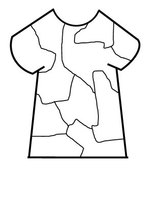 300x388 Camouflage T Shirt Pattern And Coloring Page Sandhilldreams