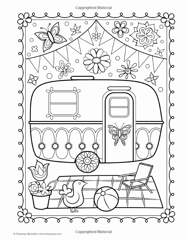 Free Coloring Pages — Thaneeya.com | 768x600