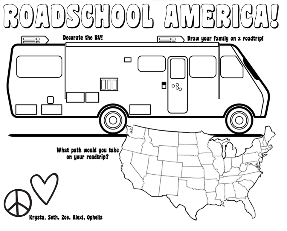 960x771 Camper Coloring Pages Compilation Free Coloring Pages
