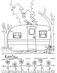 236x305 Camper Coloring Pages Compilation Free Coloring Pages