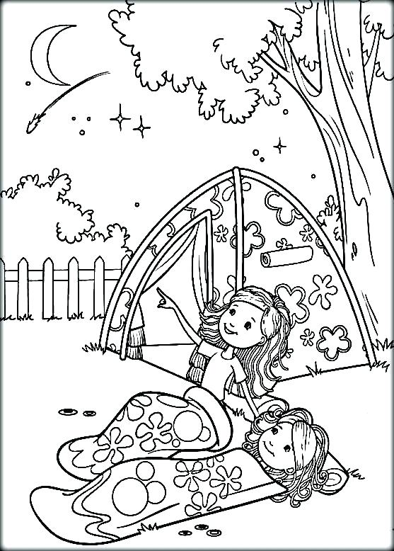 557x778 Camper Coloring Pages