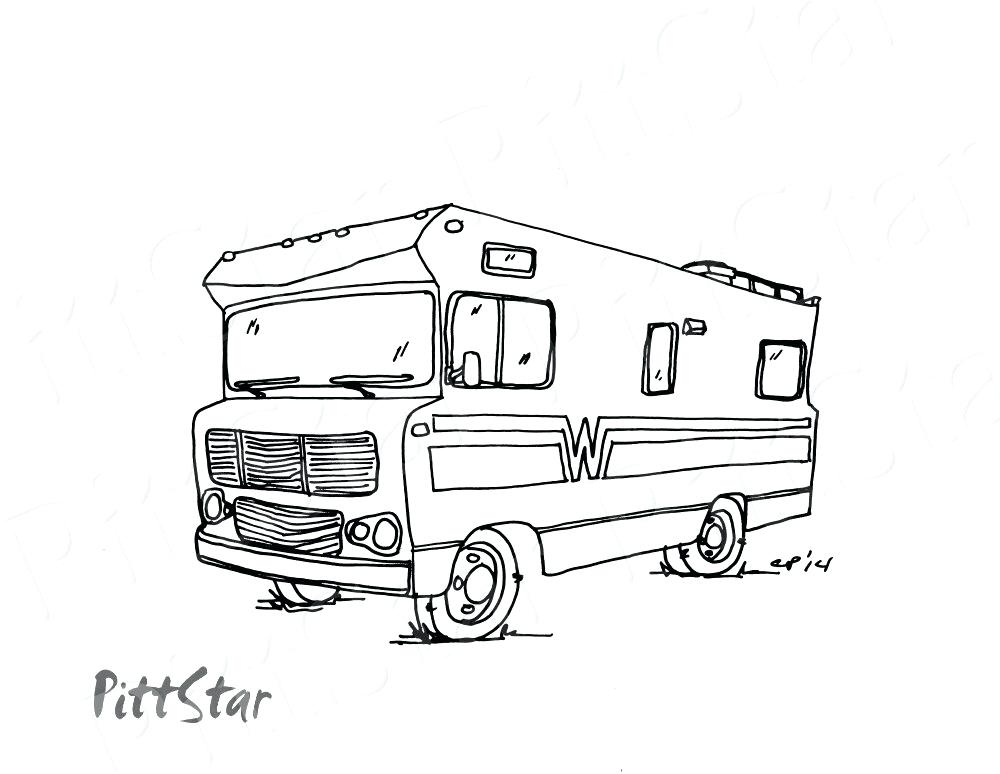 1000x774 Camper Coloring Pages Best Hippie Van Ideas On Bus Camper Coloring