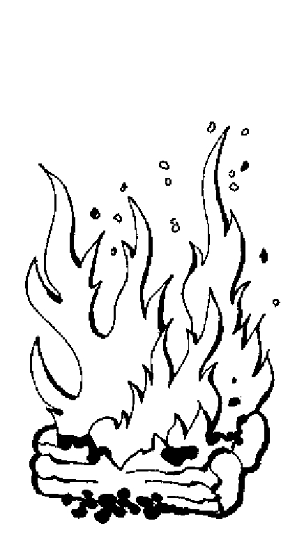 436x786 Campfire Coloring Page Extraordinary Fire Coloring Pages