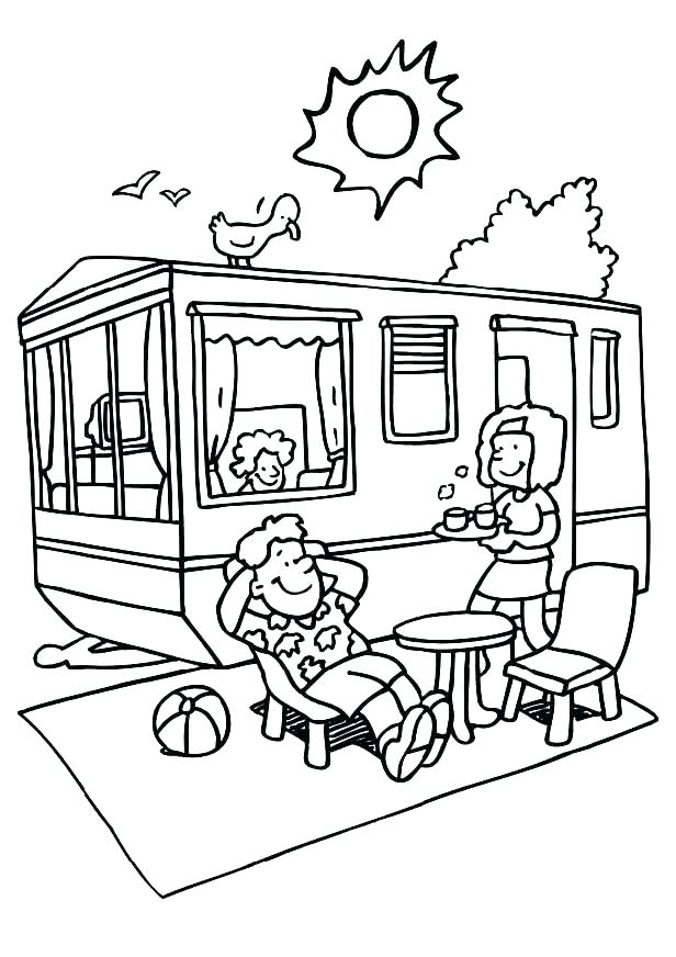 616x872 Camping Coloring Page Camping Coloring Pages Campfire Coloring