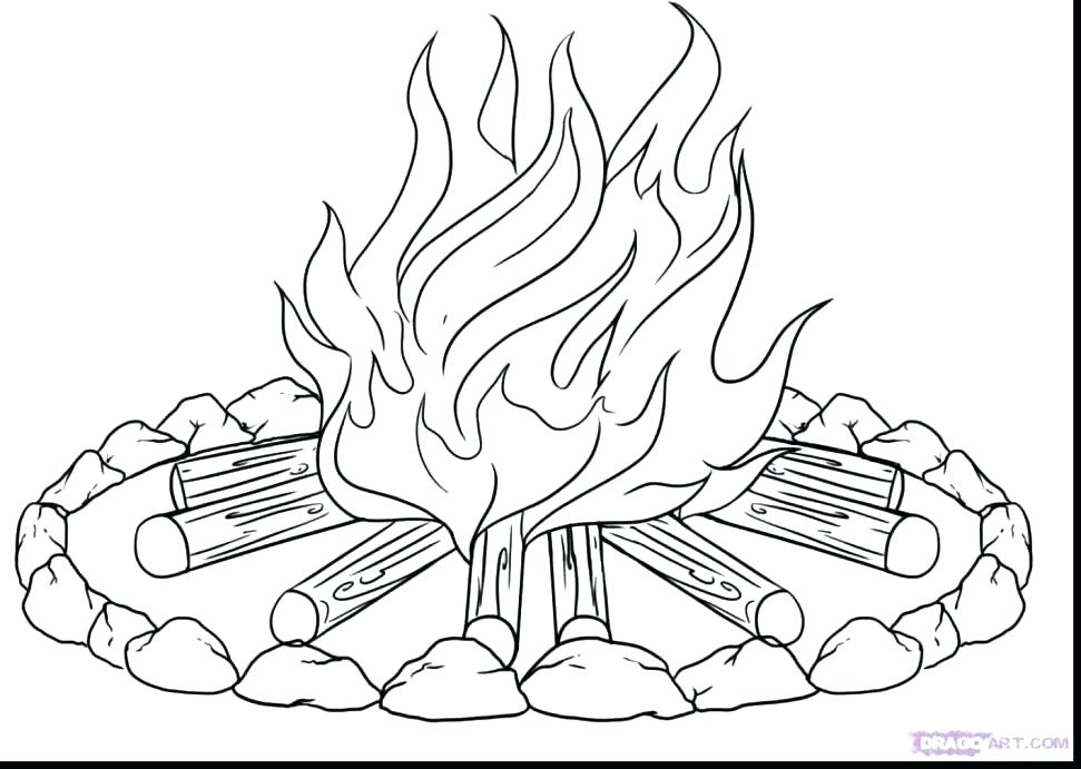 971x691 Fire Coloring Page Firefighter Coloring Page Fire Truck Helping