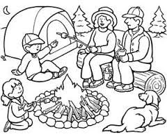 240x200 Image Result For Camping Coloring Pages Camping Fun