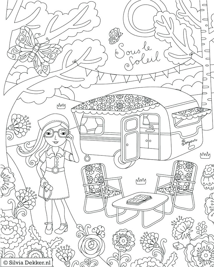 736x917 Camping Coloring Page Camping Coloring Pages Camping Coloring Page