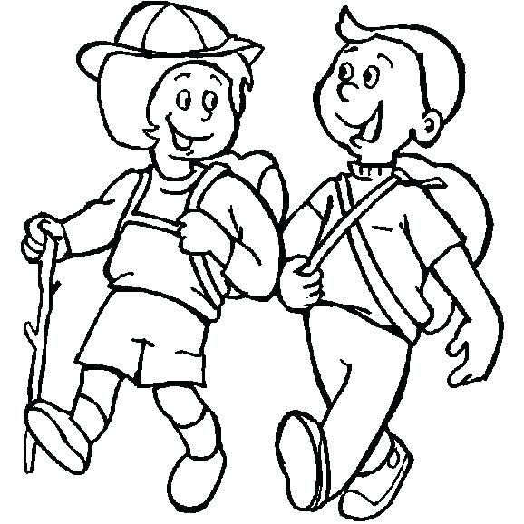 578x578 Camping Coloring Page Camping Coloring Pages Campfire Coloring