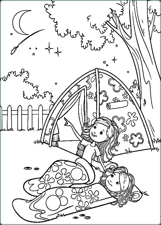 557x778 Camping Colouring Pages Preschool Camping Printable Pictures