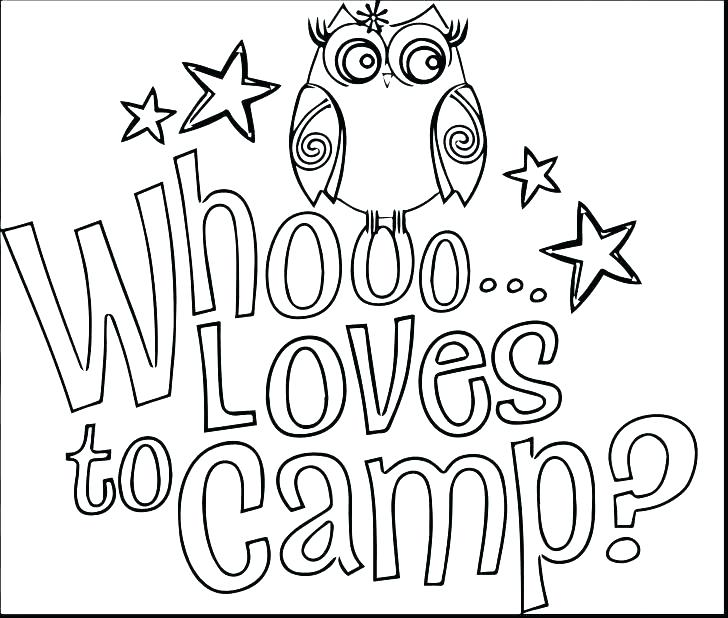 728x618 Camping Coloring Page Camping Coloring Pages Camping Coloring Page