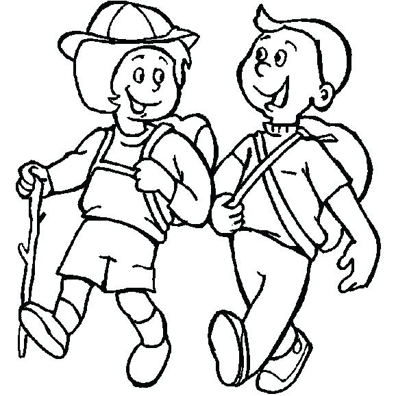 578x578 Camping Coloring Pages Get This Printable Camping Coloring Pages