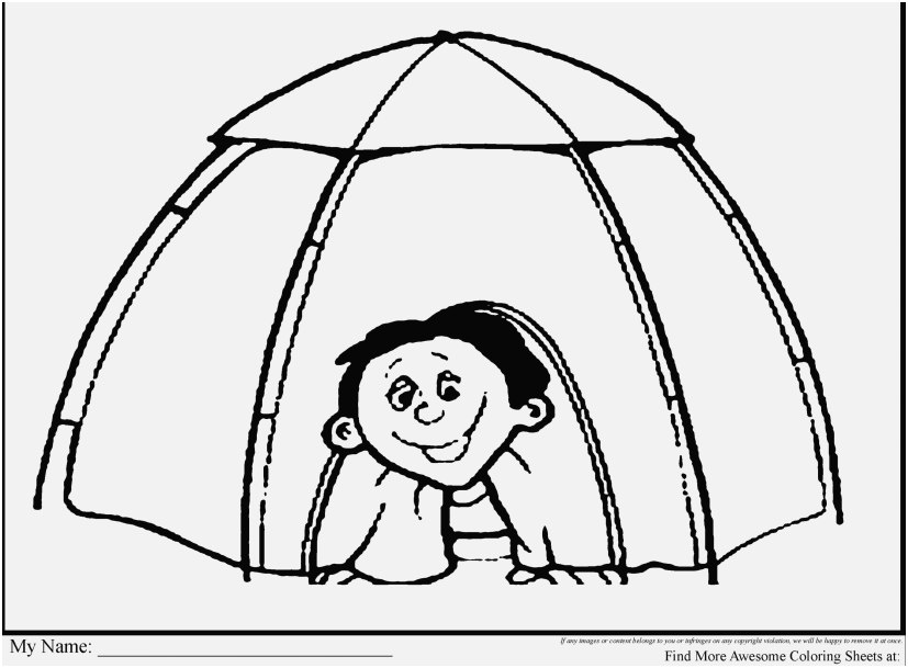 827x609 Camper Coloring Pages Image Incredible Kids Camping Tent Coloring