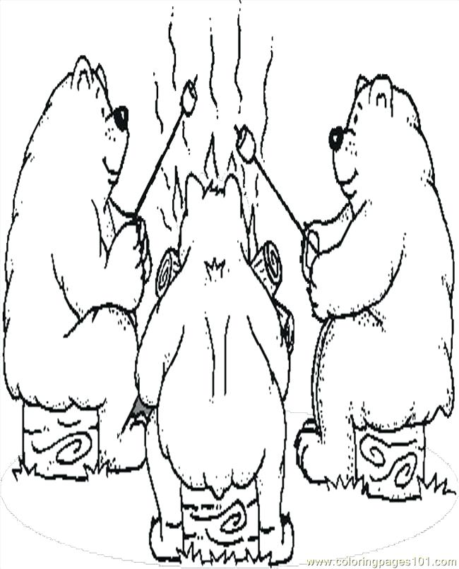 650x806 Camping Coloring Pages To Print Camping Coloring Pages To Print Rv