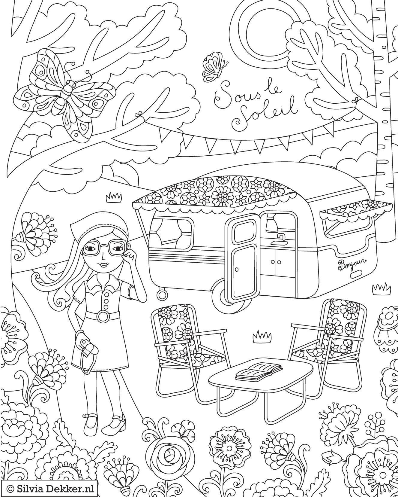 1327x1654 Camping Coloring Sheets