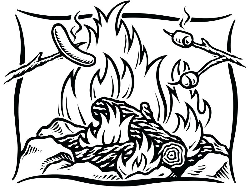 800x600 Camping Coloring Page Outdoor Coloring Pages Outdoor Coloring