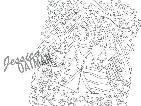 570x428 Camping Coloring Page Travel Coloring Pages Camping Coloring Page