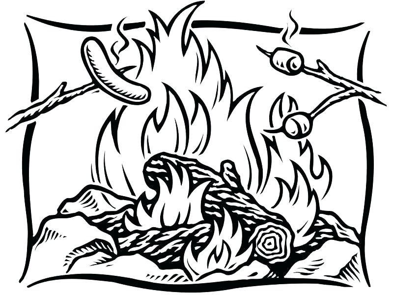 800x600 Camping Coloring Pages To Print Free Coloring Pages Printable